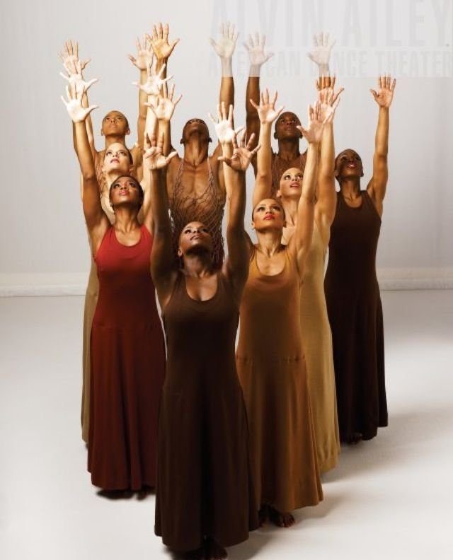 Beauty in Color. Alvin Ailey Dancers!