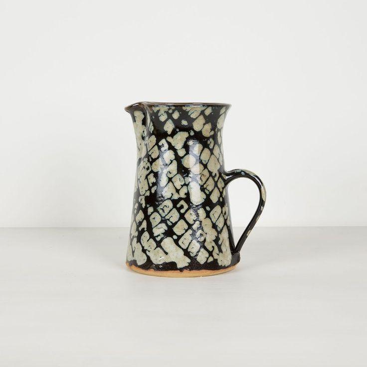Artesania De Galicia Ceramic Pitcher Snake Large