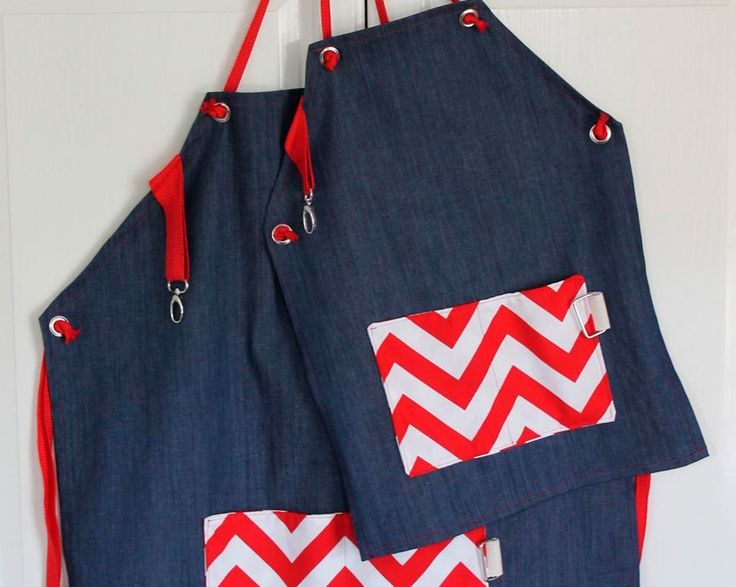 Father and Son Aprons for Father's Day www.fiskars.com