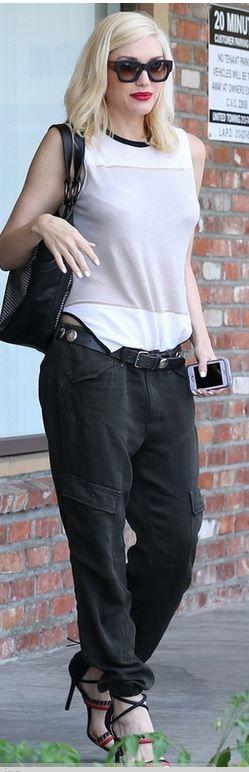 Elle's Fashion Boudoir : Gwen Stefani in L.A.M.B & DWP   LA