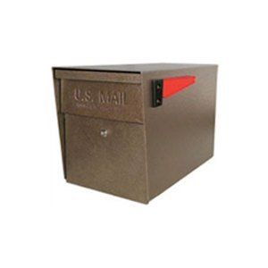 MailBoss 7108 Curbside Locking Security Mailbox by MailBoss. $163.85. Finish:Bronze MailBoss Curbside Locking Security Mailbox   The USPS approved MailBoss delivers unrivaled security and protection against mail theft, identity theft, and vandalism, and is the most affordable security mailbox.    Virtually impenetrable, it features a commercial grade 7-pin brass core tube lock and a patented anti-pry latch locking mechanism to prevent leveraged entry  Made of 12 and 14 ...