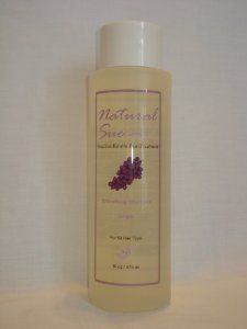 Organic Salt Free Shampoo Grape 16oz by Natural Sue. $11.00. Perfect for colored hair too. After care Treatment. Salt-free Shampoo Grape. Brazilian Keratin Post-Treatment. Very Important to use after Brazilian Blow-Out. The ingredients work synergistically to protect hair from damage by environmental stressors of the sun and also to repair damage that already has occurred. Our salt-free maintenance shampoo gently lifts and removes everyday environmental pollutants from ha...