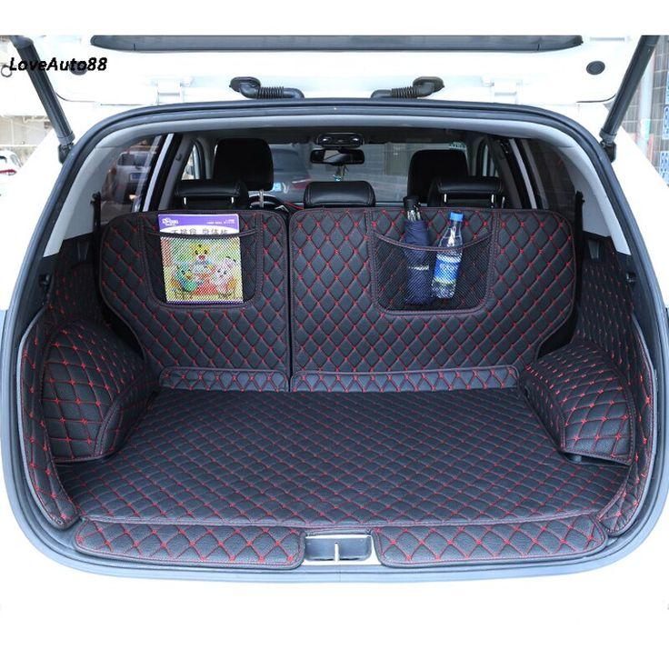 Car trunk mats cargo liner for kia sportage ql 2019 2018