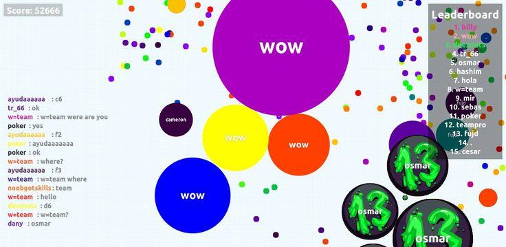 52666 score agario game // user screen shot agarioplay.com - Player: wow / Score: 52666 #agario