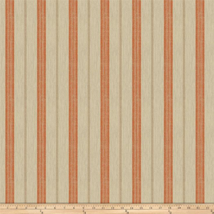 Jaclyn Smith 02620 Pumpkin from @fabricdotcom  This lovely rustic woven fabric is perfect for draperies, table top, and upholstery projects.  Fabric features 10,000 double rubs.