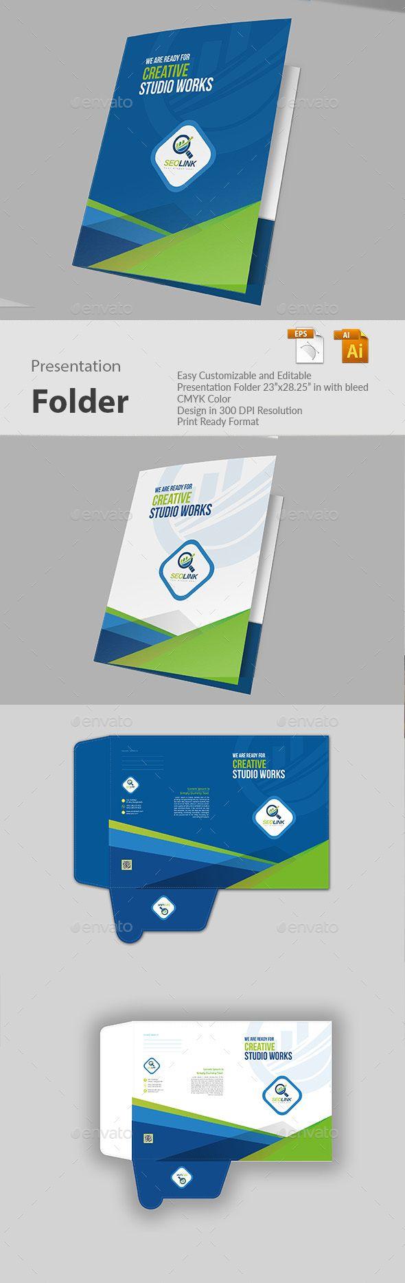 #Presentation #Folder - Miscellaneous Print Templates