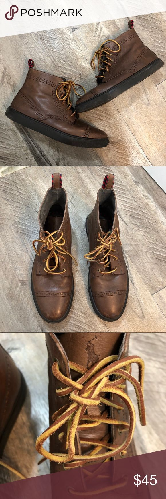 Polo Ralph Lauren Boots Lightly used in great condition!  Polo Ralph Lauren brown boots. Polo by Ralph Lauren Shoes Boots
