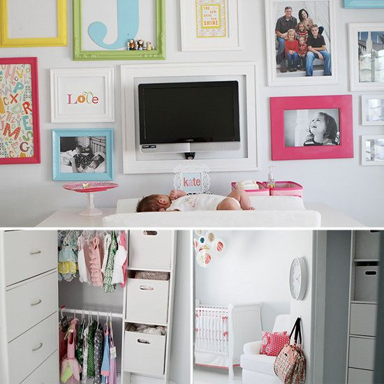 From Craft Room to Baby Kates Crib: When she needed to create a special space for the familys latest addition, Jen Johnson decided to convert her rarely used crafting room into a bright, modern nursery. The result of her low-maintenance makeover? A one-of-a-kind baby room with plenty of color and personality. Check it out by clicking here!