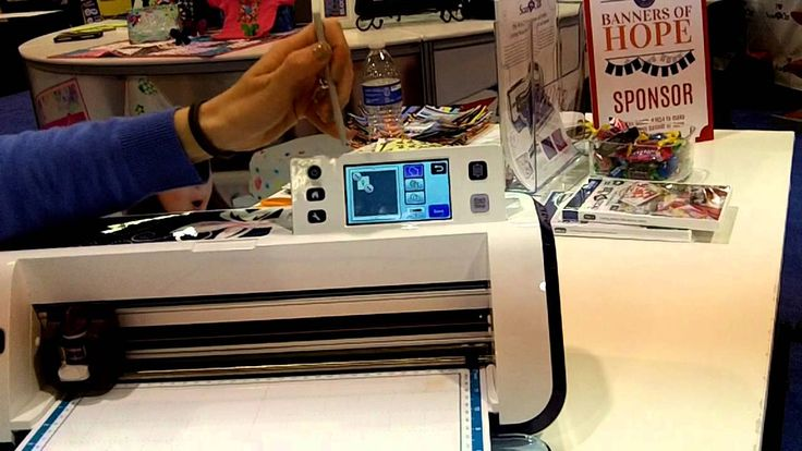 Brother Scan N Cut Machine - CHA 2014  cutting out rhinestone materials