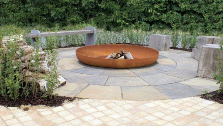 Thors Design firepit, 1,5m in diameter
