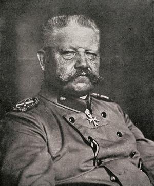 Field Marshal von Hindenburg