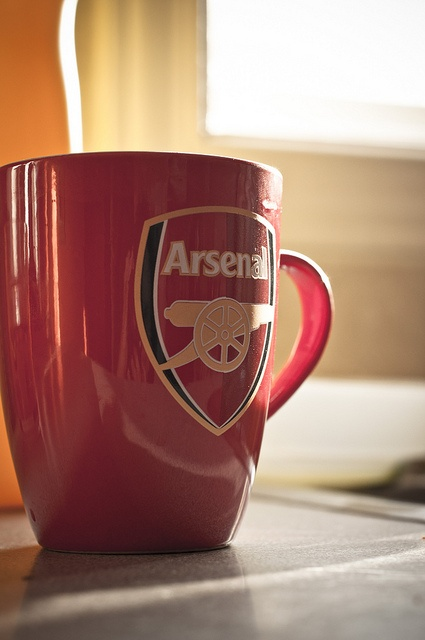 What better way to wake up in the morning than to a nice mug of Gunners