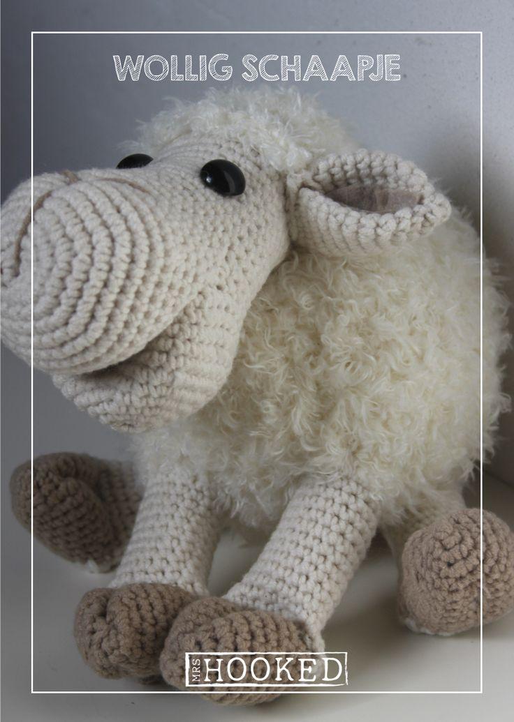 Haakpatroon knuffelschaap - Haken - Schaap - Rico Fashion Fur - Scheepjes Softfun