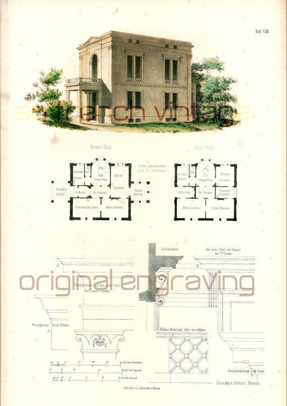 Best 25 villa plan ideas on pinterest for Plan architecte