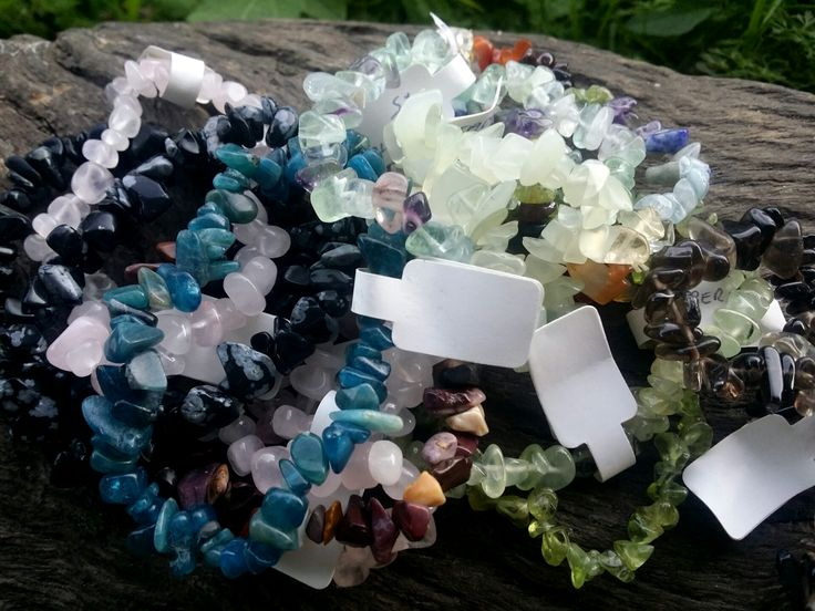 Crystal Gemstone Bracelets