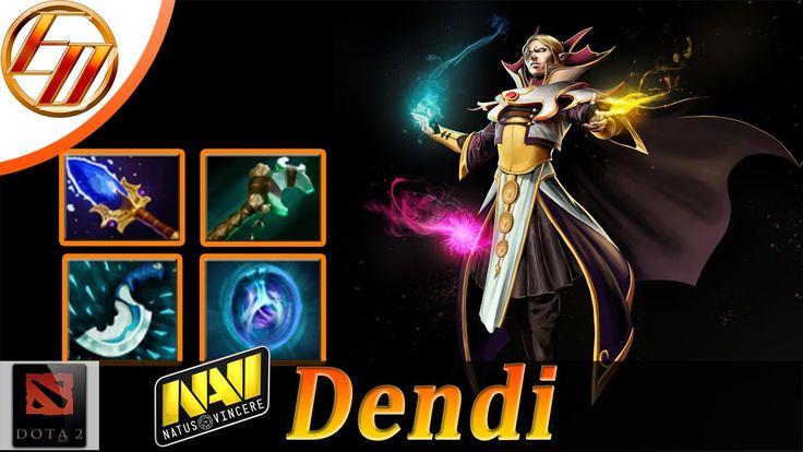 Dendi→ Invoker Mid ♦ Dota 2 Pro Gameplay |Est Dota™