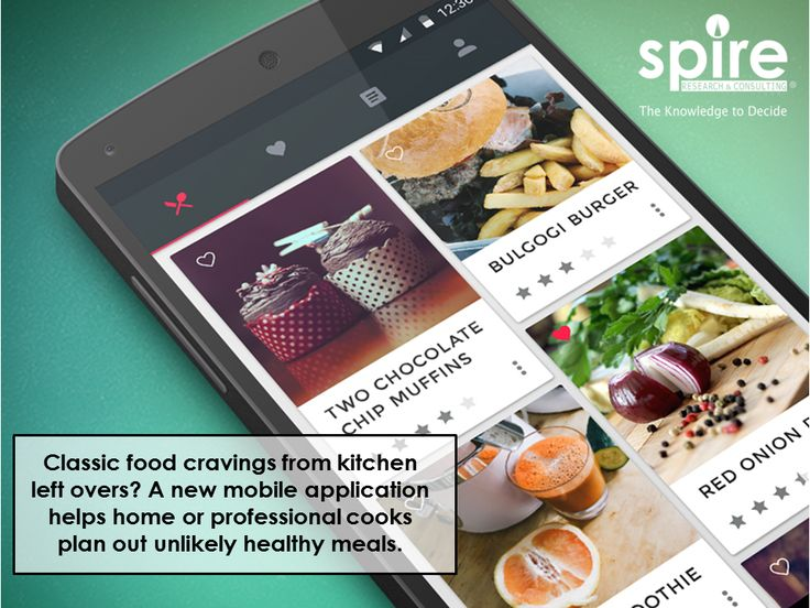 Classic food cravings from kitchen left overs? A new mobile application helps home or professional cooks plan out unlikely healthy meals.  #Spire#Healthcareindustry#Healthcare2017#Daretobefit#Kitchen#Leftover#Recycle#Trivia