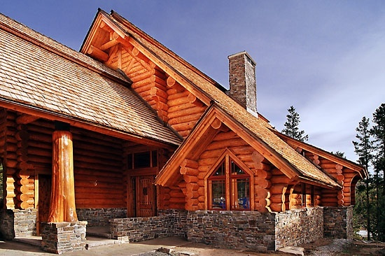 127 best images about mi caba a my cabin on pinterest - Casas de madera rusticas ...
