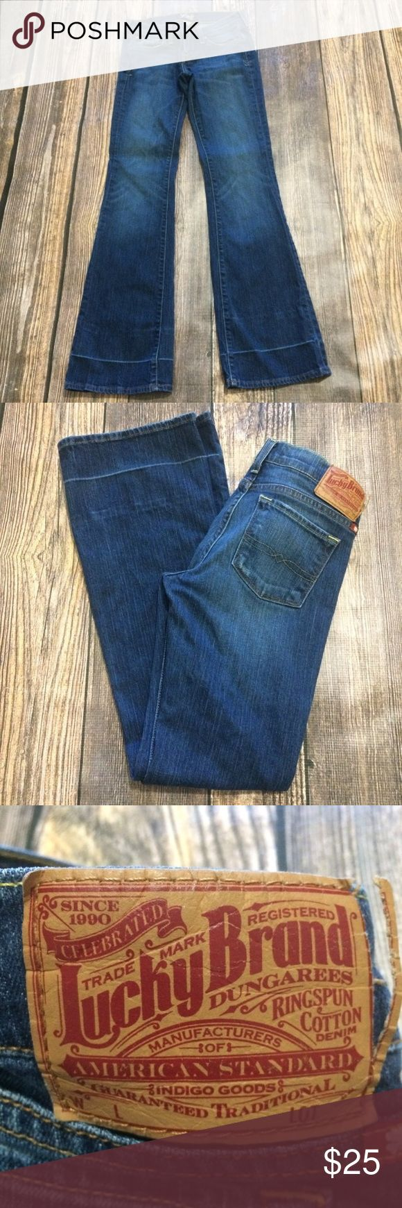 "Lucky Brand Zoe flare jeans Lucky Brand Zoe flare jeans  🌺Bundle deals offered. Check out my closet for a variety of sizes/brands 🌺 No trades, holds or modeling 🌺 All reasonable offers accepted only through the ""offer"" button. Please no lowball offers. Please submit offer you are willing to pay, as I prefer not to counteroffer.  🌺 God Bless Lucky Brand Jeans Flare & Wide Leg"