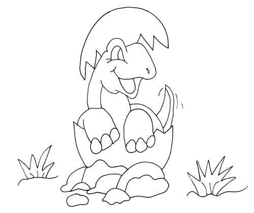 knabstrupper hengst dinosaur coloring pages | Baby Dinosaur Coloring Pages for Kids | Dinosaures ...