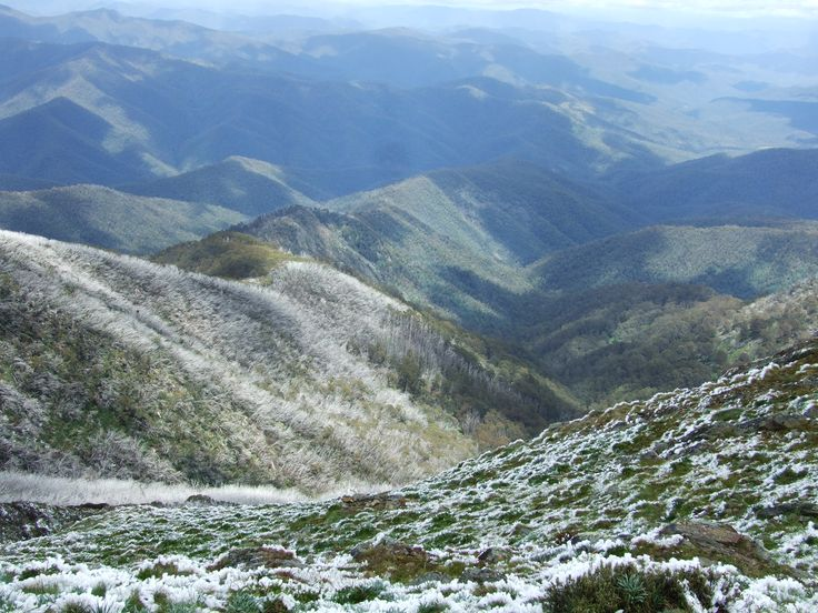 Looking down the west ridge of Buller