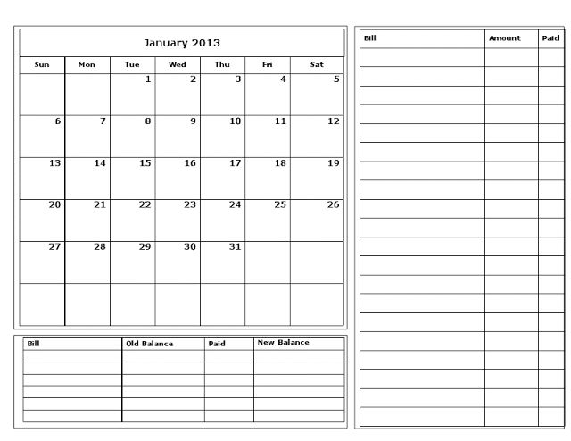 25+ unique Bill calendar ideas on Pinterest Payment date, Free - bill calendar