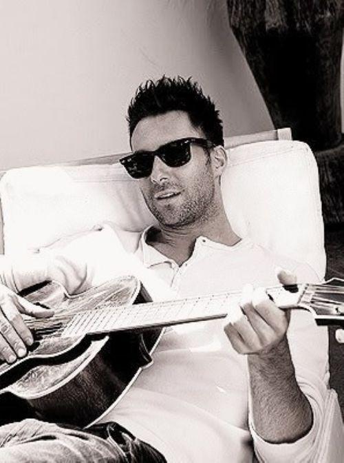 Adam Levine... 'nuff said.