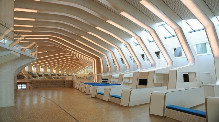 library7 620x346 Library in Vennesla  by Helen & Hard