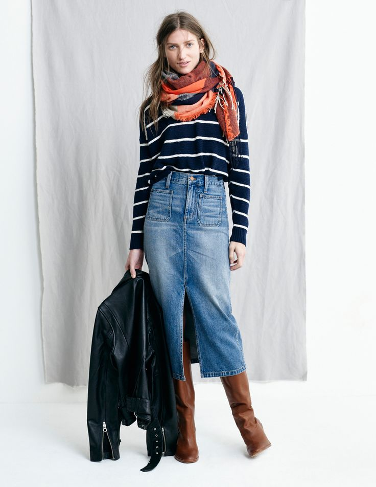 1000 images about denim skirts on maxi skirts