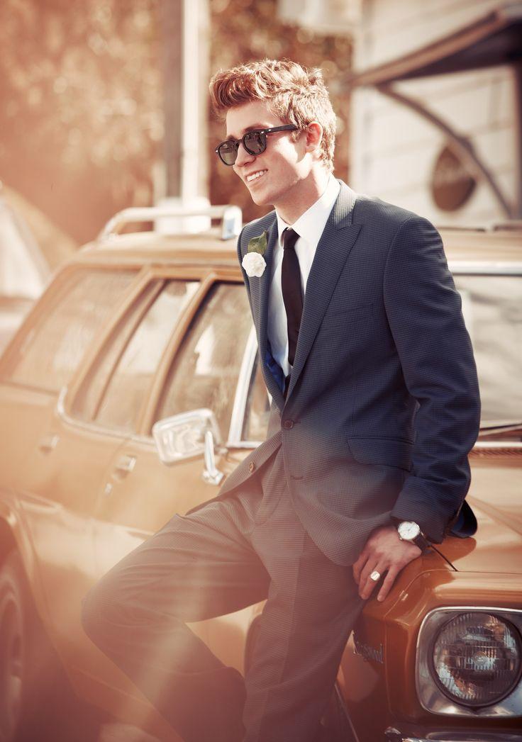 #grooms #NewZealandWeddingsmagazine #fashion Photo by Steve Tilley