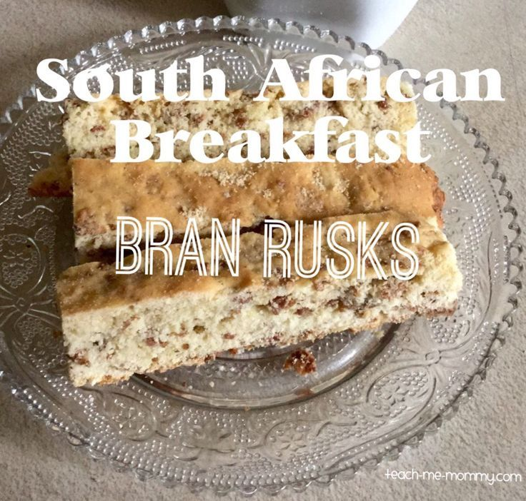 Ever wondered what South Africans eat for Breakfast? Bran Rusks(with recipe)