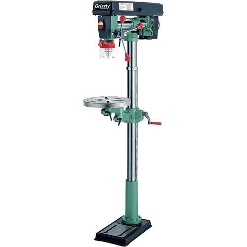 Shop our G7946 - 5 Speed Floor Radial Drill Press at Grizzly.com