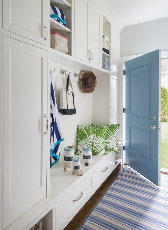 1000 images about mudrooms on pinterest entry ways for Entryway lockers with doors