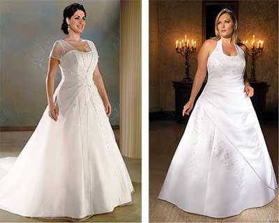 Mais #vestidos http://modaplussize.org/vestidos-de-noiva-para-gordinhas/