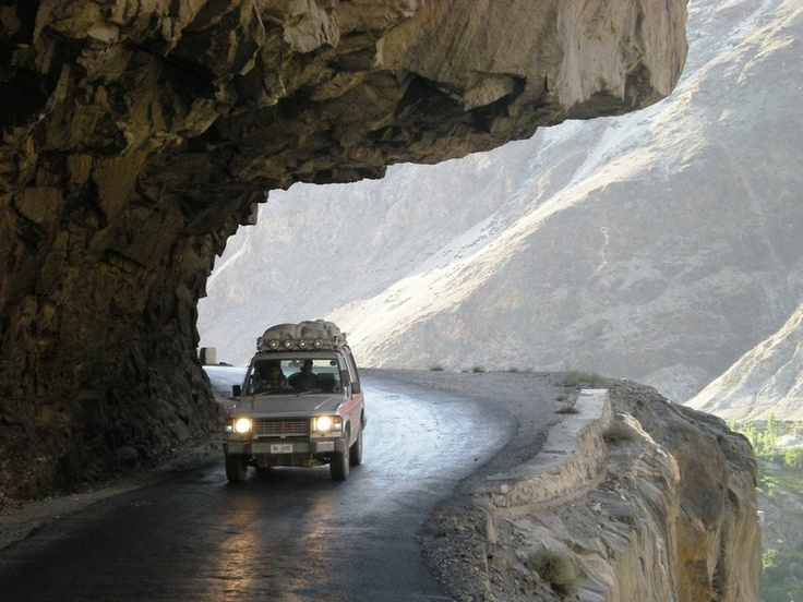 Pajero Proved to be a true SUV.