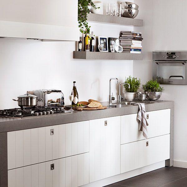 25 beste idee n over kleine keukens op pinterest kleine landelijke keukens keuken - Keuken klein ontwerp ruimte ...