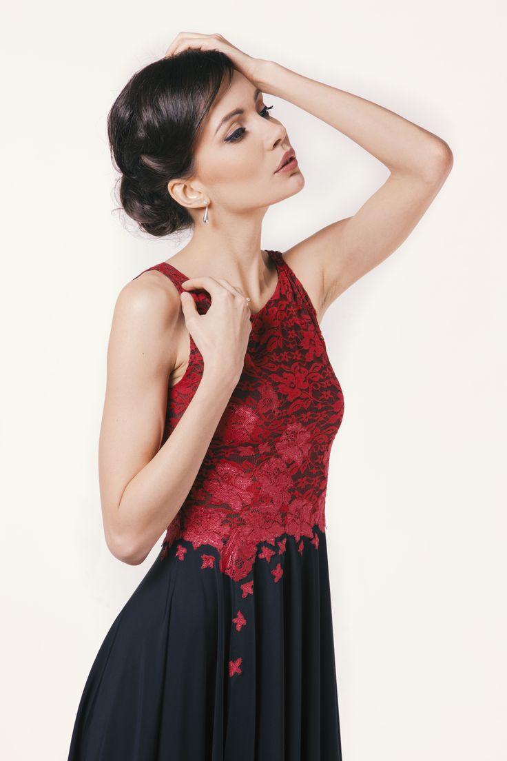 Beauty #model #audrey #style #beautiful #lace