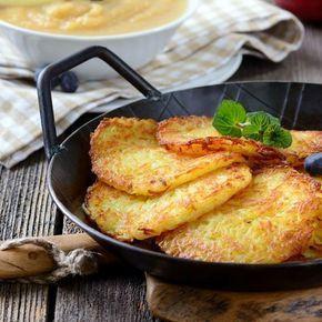 Hausgemachte Kartoffelpuffer