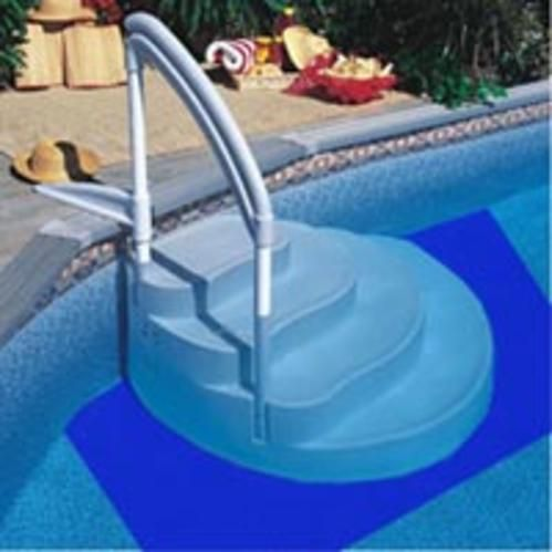 swimline 35 ft x 5 ft drop in step pad pool liner protector