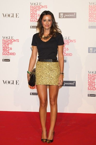 Monica de Tomas - Vogue Fashion Night Out - Madrid 2012