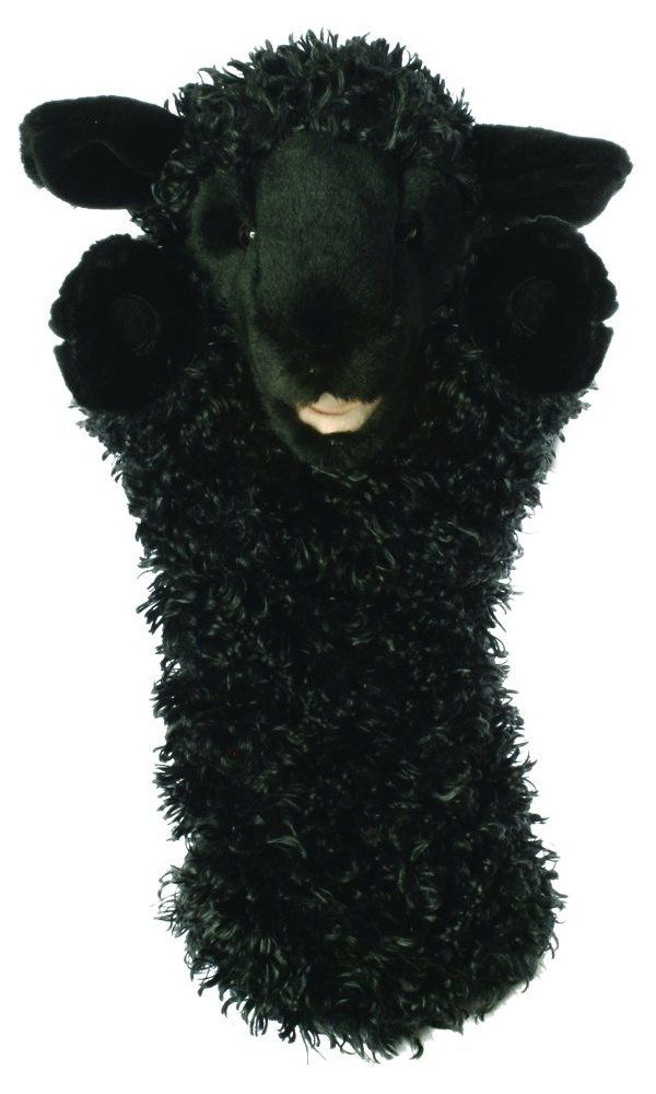 The Puppet Company - Long-Sleeved Glove Puppets - Sheep (Black) Best Price