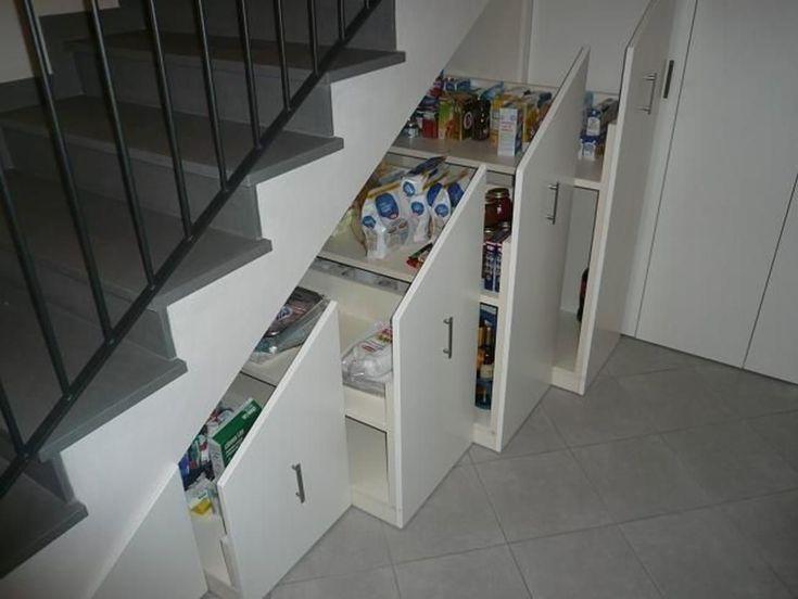 17 melhores ideias sobre prateleiras sob escadas no pinterest