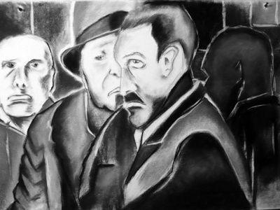 the secret (Pintura) por Ana Balegas