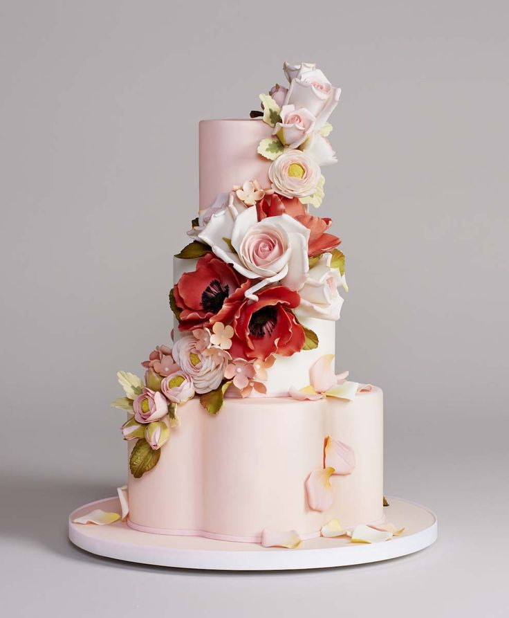 wedding cakes in lagunbeach ca%0A Custom Wedding Cakes by Bottega Louie   Reverie Gallery Wedding Blog