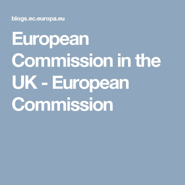 European Commission in the UK - European Commission
