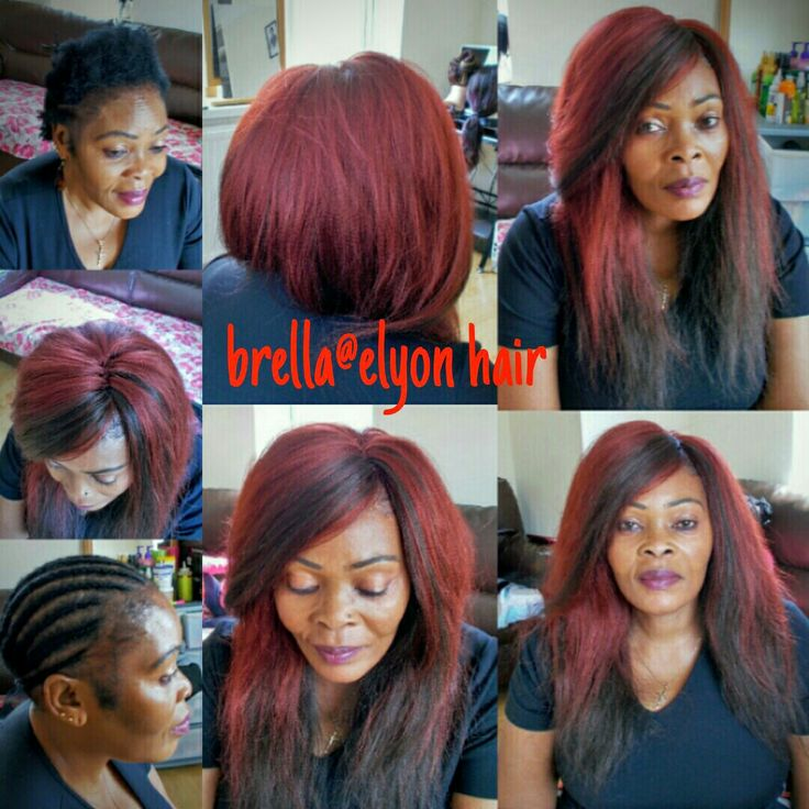 Straight crochet braids with xpression hair no hair left out                                                                                                                                                                                 More