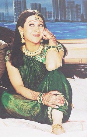 Karisma Kapoor in Hum Saath Saath Hain 1999