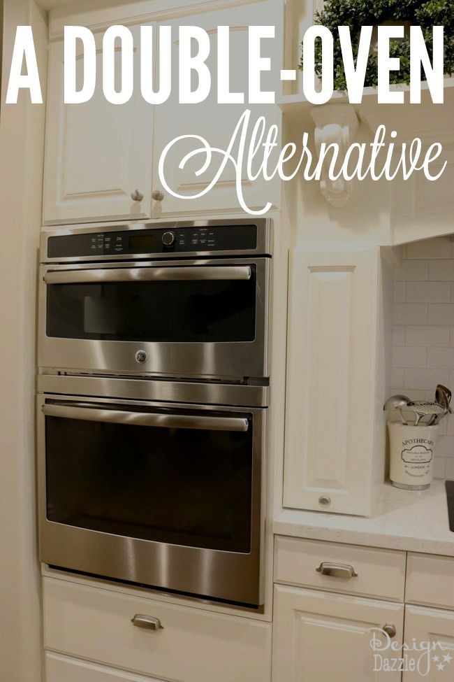 Convection Oven Microwave Combination - A Double-Oven Alternative www.DesignDazzle.com