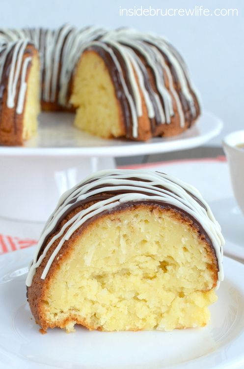 Three times the coconut makes this cake absolutely amazing!!!