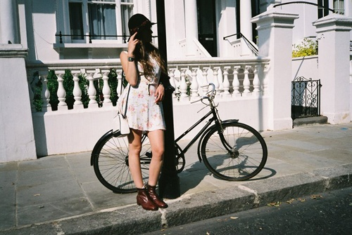dress and bootsGirls Generation, Dresses, Boots, Girls Bicycles
